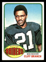 1976 Topps #173 Cliff Branch Excellent+