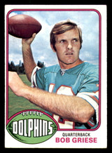 1976 Topps #255 Bob Griese Excellent+