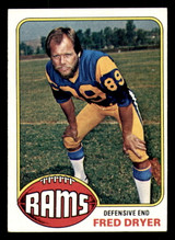 1976 Topps #252 Fred Dryer Ex-Mint