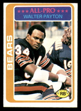 1978 Topps #200 Walter Payton UER Excellent+  ID: 301635