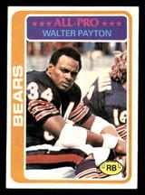 1978 Topps #200 Walter Payton UER Very Good  ID: 301636