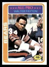 1978 Topps #200 Walter Payton UER Very Good  ID: 301637