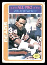 1978 Topps #200 Walter Payton UER G-VG