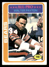 1978 Topps #200 Walter Payton UER Excellent  ID: 301639