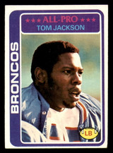 1978 Topps #240 Tom Jackson Excellent+ RC Rookie