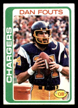 1978 Topps #499 Dan Fouts Excellent+  ID: 301667