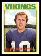 1972 Topps #225 Fran Tarkenton Excellent+  ID: 301706