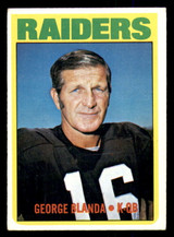 1972 Topps #235 George Blanda Excellent+