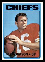 1972 Topps #245 Len Dawson Excellent+  ID: 301716