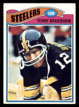 1977 Topps #245 Terry Bradshaw Excellent  ID: 301736