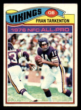 1977 Topps #400 Fran Tarkenton Very Good