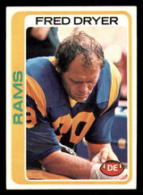 1978 Topps #366 Fred Dryer Ex-Mint