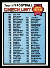 1979 Topps #486 Checklist 397-528 Near Mint+