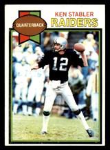 1979 Topps #520 Ken Stabler Excellent+