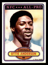 1980 Topps #170 Ottis Anderson Ex-Mint RC Rookie  ID: 301840