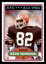 1980 Topps #110 Ozzie Newsome Near Mint