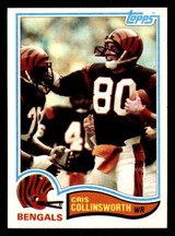 1982 Topps #44 Cris Collinsworth Near Mint+ RC Rookie  ID: 301902