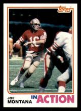 1982 Topps #489 Joe Montana IA Ex-Mint  ID: 301907