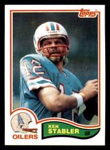 1982 Topps #105 Ken Stabler Near Mint