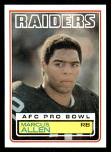 1983 Topps #294 Marcus Allen DP Near Mint+ RC Rookie