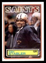1983 Topps #118 Ken Stabler Very Good