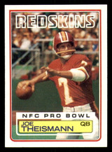 1983 Topps #199 Joe Theismann Near Mint