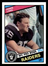 1984 Topps #111 Howie Long Near Mint+ RC Rookie  ID: 301933
