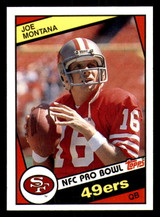 1984 Topps #358 Joe Montana Near Mint+