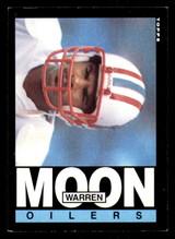 1985 Topps #251 Warren Moon Ex-Mint RC Rookie