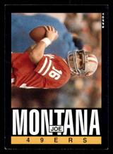 1985 Topps #157 Joe Montana Excellent+