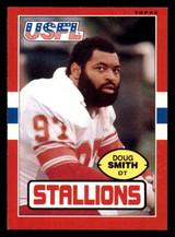 1985 Topps USFL #28 Doug Smith Near Mint RC Rookie