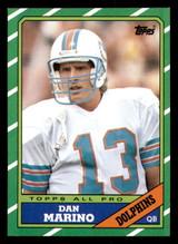 1986 Topps #45 Dan Marino Near Mint  ID: 302006