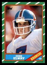 1986 Topps #112 John Elway Near Mint+  ID: 302010