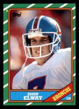 1986 Topps #112 John Elway Near Mint+  ID: 302012