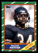 1986 Topps #11 Walter Payton Excellent+