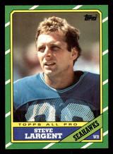 1986 Topps #203 Steve Largent Near Mint