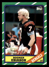 1986 Topps #255 Boomer Esiason Near Mint RC Rookie  ID: 302026