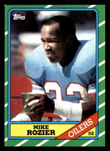 1986 Topps #351 Mike Rozier Near Mint RC Rookie
