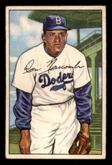 1952 Bowman #128 Don Newcombe Very Good  ID: 302044