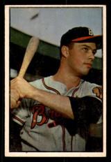 1953 Bowman Color #97 Eddie Mathews Very Good