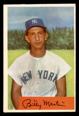 1954 Bowman #145 Billy Martin Ex-Mint