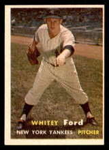 1957 Topps #25 Whitey Ford Excellent+
