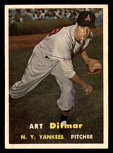 1957 Topps #132 Art Ditmar UER Excellent+  ID: 302074