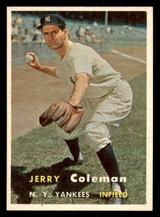 1957 Topps #192 Jerry Coleman Near Mint  ID: 302076