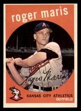 1959 Topps #202 Roger Maris Ex-Mint
