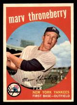 1959 Topps #326 Marv Throneberry Near Mint
