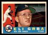 1960 Topps #183 Eli Grba Near Mint RC Rookie