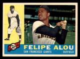1960 Topps #287 Felipe Alou Ex-Mint  ID: 302104
