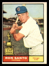 1961 Topps #35 Ron Santo Near Mint RC Rookie