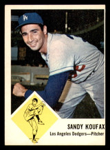 1963 Fleer #42 Sandy Koufax Ex-Mint